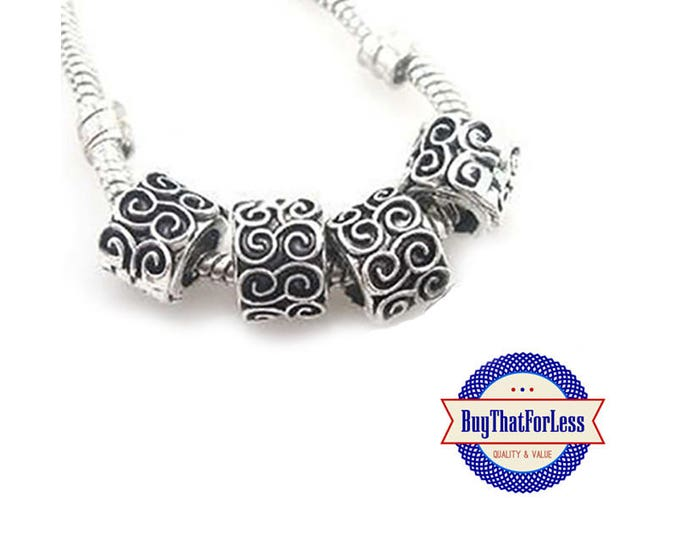 "CLEARANCE - Swirl ""Carved"" Beads, 12 pcs **FREE Shipping with orders 10 dollars+ **"