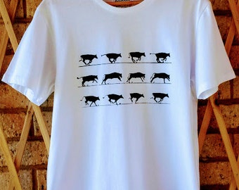 Cattle Run Men's T-Shirt