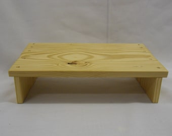 Twins meditation bench or footstool