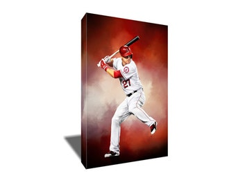 Mike trout etsy for Bryce harper mvp shirt
