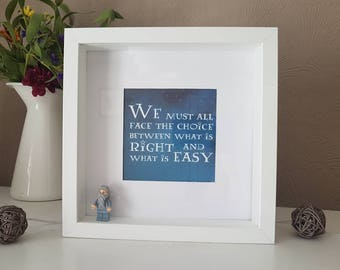 Harry Potter Lego Dumbledore quote print in stars