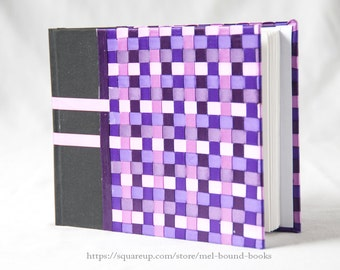 CLEARANCE Woven Blank Journal