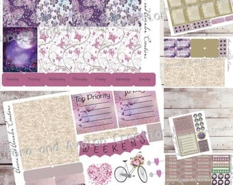 Butterfly weekly kit, Erin Condren, Erin Condren Horizontal, Happy Planner