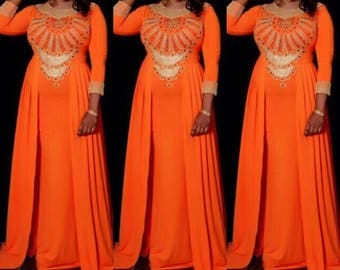 Spandex abaya dress. Made to order