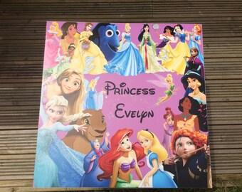 Bespoke Disney princess table and chair set