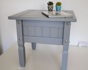 Grey upcycled coffee table