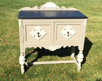 SOLD!!!  Small Jacobean Buffet