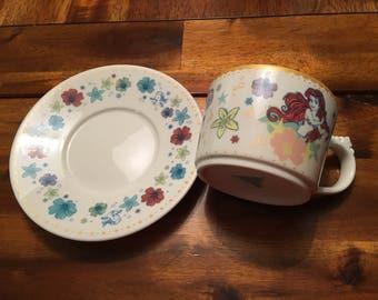The Little Mermaid teacup set