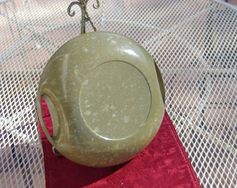 Mid Century Aztec Melmac Serving Bowl