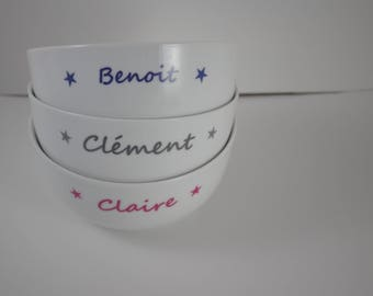 Personalized star Bowl
