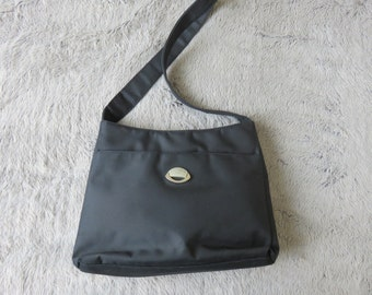 Mick Gwend Black Bag - Vintage -