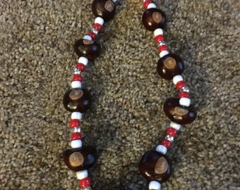 Buckeye Beaded Necklace (2 per order)