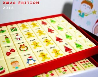 holiday mahjong set limited edition
