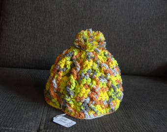 Cable beanie (6-12m)