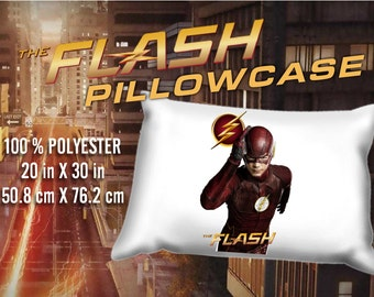 Flash Barry Allen Grant Gustin  Pillowcase