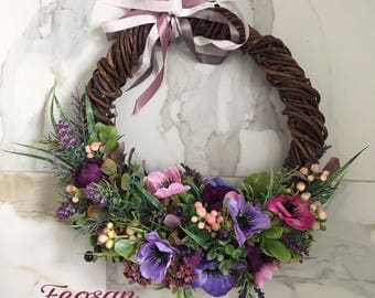 BLUEBERRY DELIGHT by a wreath of vines