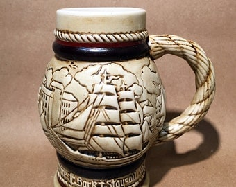 Avon Sail Ship Beer Stein - 1983 - Small Mug
