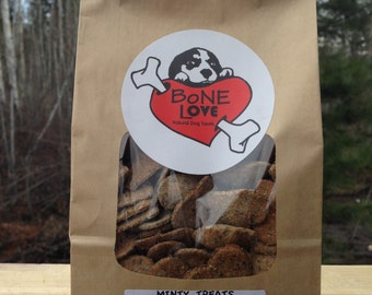 Combo Pack - Minty, Maple/Bacon, PB/Pumpkin Natural Dog Treats- 200g each