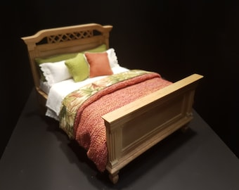 Miniature Dressed Bed