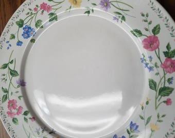 Farberware English Garden Pattern #225 - Set of 4 Dinner Plates