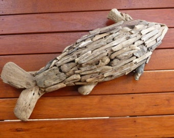 DRIFTWOOD WALL FISH