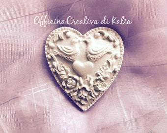 Love Heart Wedding Favor Wedding scented chalk Placeholder