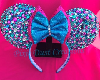 Confetti Glitz & Glam Minnie Ears Headband