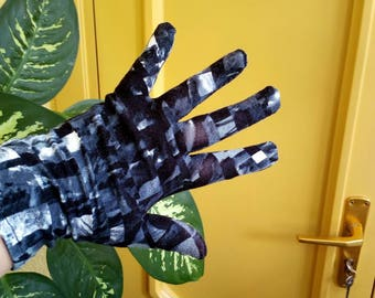 GardenGloves.Easy knitted gloves, elastic material,Women's gardening Gloves,Sparing hand.