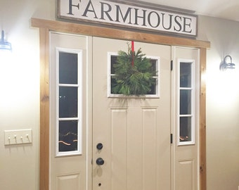 Farmhouse Sign | Large Farmhouse Sign | Country living