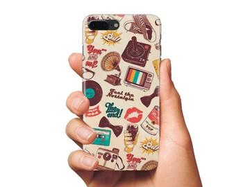 Pop Art case iPhone Case Samsung case Retro cases iPhone 4/5/6/7/Plus case Samusng Galaxy S4/5/6/7 Edge Plus case Cool Case covers iPhone