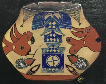 Sante Fe Pottery Painting