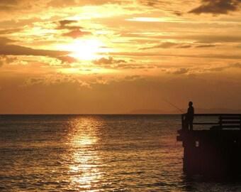 Sunshine Coast BC sunset