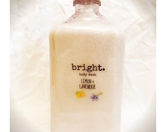 bright. Body Wash