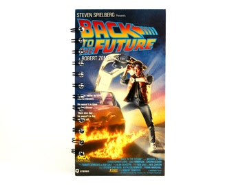 Back to the Future Notebook | Recycled VHS