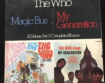 ON SALE Vintage 1980 Magic Bus / My Generation Vinyl Record Good Condition