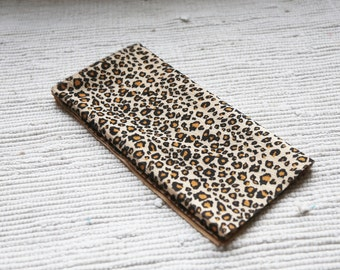 Leopard. Thin fur/plush for making toys
