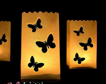 Paper lamps - Butterfly