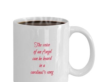 Sentimental  coffee mug - The Voice of an Angel