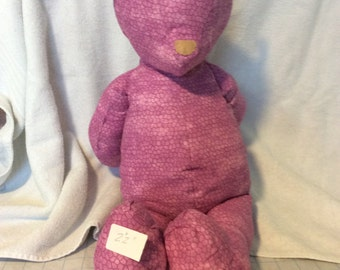 Stuffed teddy bear toy, soft teddy bear, handmade toy bear