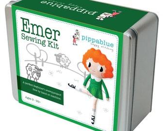 Emer the Irish Dancer- Cut and Sew  Kit