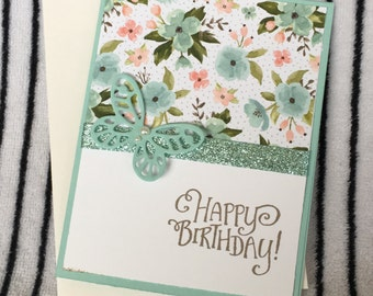 Happy Birthday Card for Mom, Sister, Girlfriend, Daughter