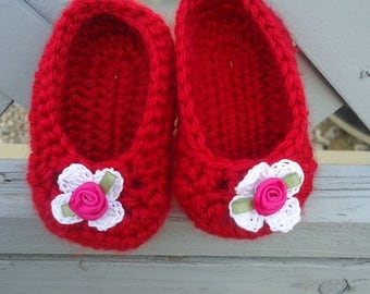 Baby Shoes, Crochet baby shoes, baby clothes shoes, baby girl slippers