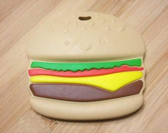 Teething toy - Hamburger