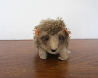 Steiff Mohair Hedgehog Button in Ear