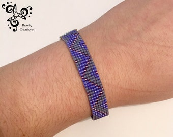 how to finish beaded loom bracelet