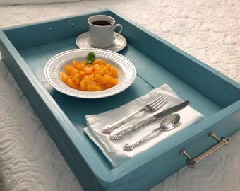 Serving Tray, Wood Serving Tray, Breakfast Bed Tray, Under bed storage tray, Breakfast Tray, Coffee Table Tray, Ottoman Tray