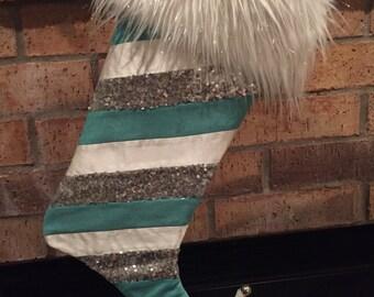 Fun Fuzzy Fabulous Christmas Stocking