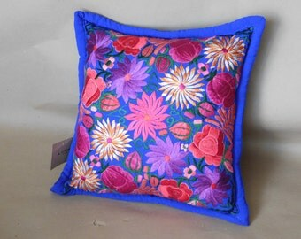 Mexican Floral Pillow