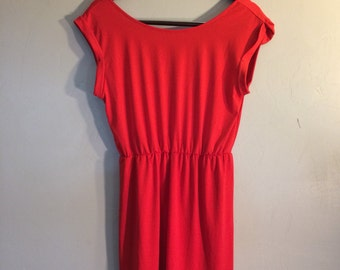 Vintage Style Little Red Dress