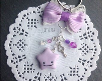 Pokemon Ditto (Ditto) Kawaii keychain